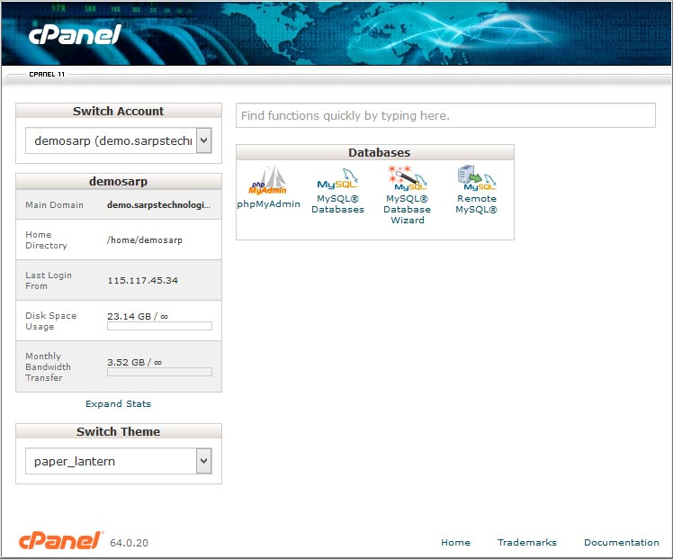 cpanel_databases