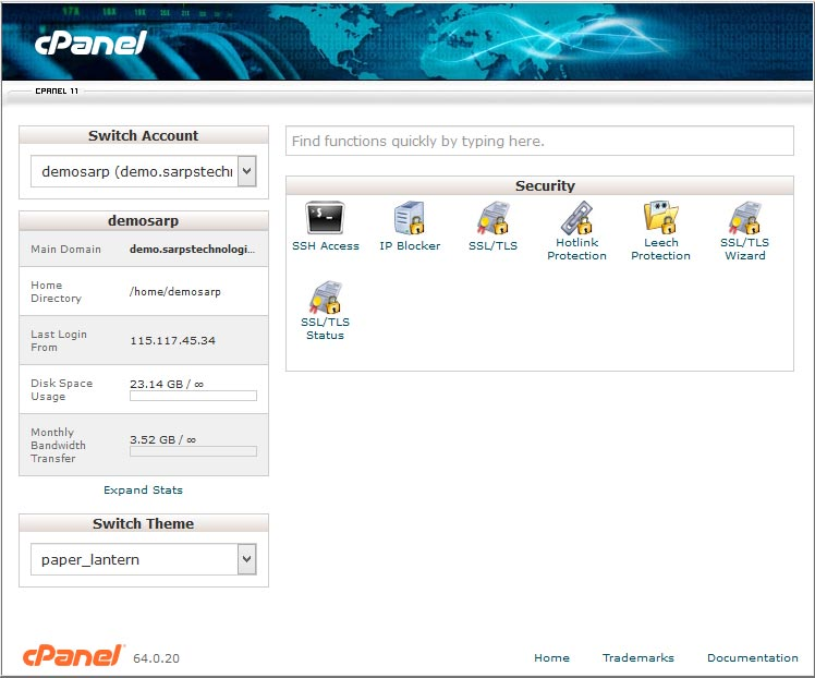 cpanel_security