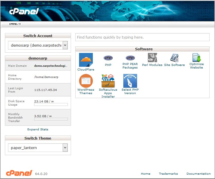 cpanel_software
