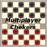 Multiplayer Checkers logo
